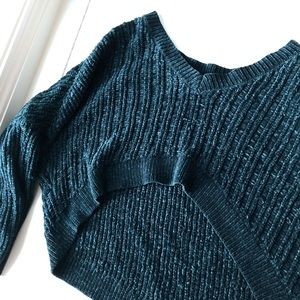 UO Silence + Noise Slouchy Chenille Sweater